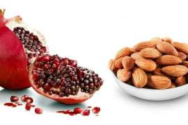 Almond Aur Pomegranate - Behtareen Super Food