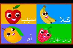 Learn Fruits Names In Urdu