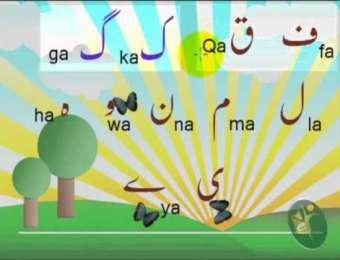 Alphabets Haroof e Tahaji