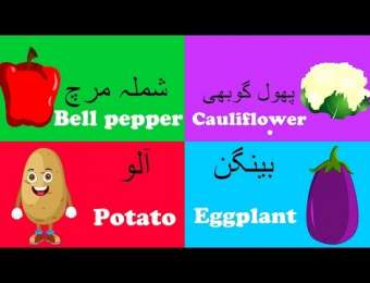 Vegetables in Urdu