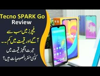 TECNO Spark GO Review in Urdu