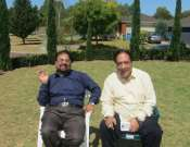 Attaul Haq Qasmi And Saud Usmani In Good Mood Photo Gallery