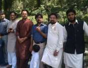 A Group Photot Of Saud Usmani, Zia Turk, Hammad Niazi And Other Friends Photo Galley