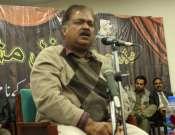 Abbas Tabish In Annual Mushaira In University Of Gujrat Photo Gallery