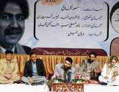 Imran Aami Reciting His Poetry In Isalmabad Mushaira Photo Gallery