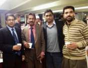 Imran Aami, Saeed Doshi And Other Friends In A Group Photo After Islamabad Mushaira Photo Gallery