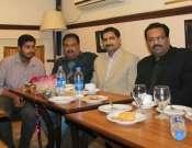 A Group Photo In Halqa E Arbab E Zauq Pak Tea House Photo Gallery