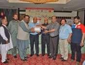 Qaomi Conferrence MeiN Waseem Abbas Ko Taoseefi Certificate Diya Ja Rha Hae Photo Gallery