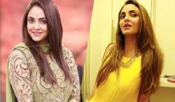 nadia Khan stylish funkarah ke out style andaaz
