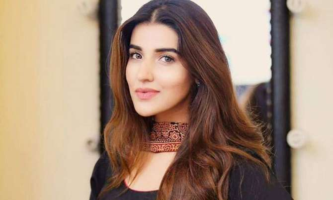 Actress Hareem Farooq