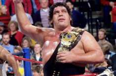 André The Giant French Professional Wrestler