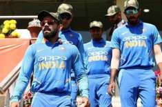 Indian Players Wear Army Caps