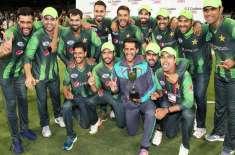 Pakistan No 1 T 20 Team