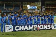 India Won Odi Series 2-1