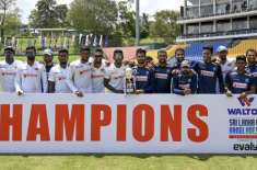 Sri Lanka Won 1-0