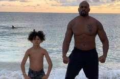 Wrestler Shad Gaspard