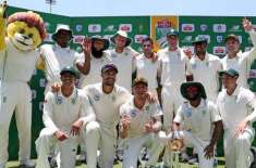 Sa Won Test Series 3-0 Vs Pakistan