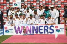 Pak Won Test Series Vs Sri Lanka