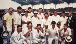Aussies Lift The Trophy