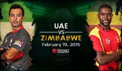 Tajarabakar Zimbabwe Team Ka Aaj Pardesiyoon Per Mushtamil UAE Team Se Muqabla