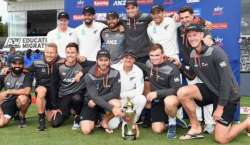 Nz Won Test Series 2-0