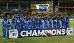India Won Odi Series 2-1