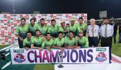 Pakistan Won The Series 5-0