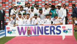 Pak Won Test Series Vs Sri Lanka