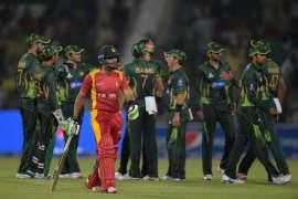 1st ODI Pakistan vs Zimbabwe