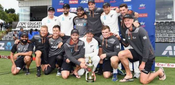 Nz Won Test Series 2-0