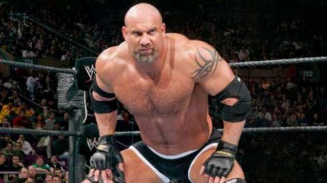 Wrestler Gold Berg