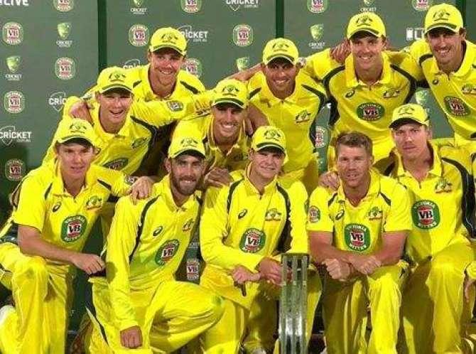 Pakistan Odi Series Lost From Australia