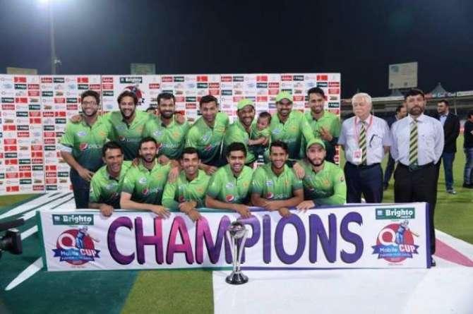 Pakistan Won The Series 5-0