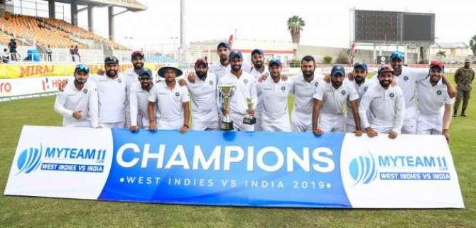 India Beat West Indies