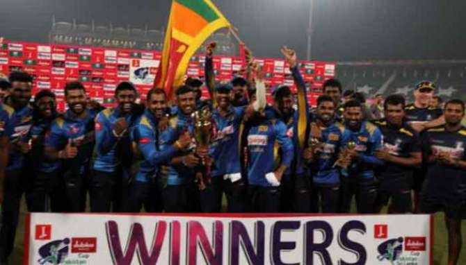 Sri Lanka Won T20 Series 3-0