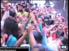 Countrywide Celebrations Of Pakistan Win Against South Africa