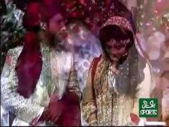 Sarfaraz Ahmed Ties Knot Got Married Wedding Shaddi Valima In Karachi Video Pictures