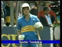 Sachin Tendulkar 1st Runs In One Day Cricket