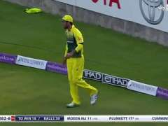 Magnificent Catch By Maxwell IN 4th Odi Aus Vs Eng 2015