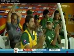 Umar Gul Smacks Three Massive Sixes For Pakistan