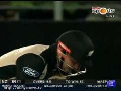 New Zealand Fall Of Wickets 1st T20 -15-01-2016
