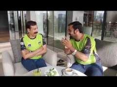 Fawad Rana Of Lahore Qalandars, Special Interview. PSL 3 - UrduPoint