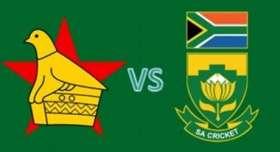 ZIMBABWE TOUR OF SOUTH AFRICA [DEC 2017]