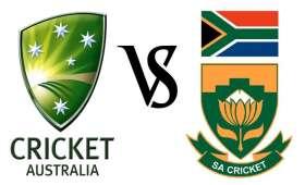 South Africa V Australia 2018