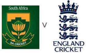 England Tour Of South Africa 2019/20