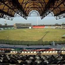Gaddafi Stadium Lahore, Pakistan
