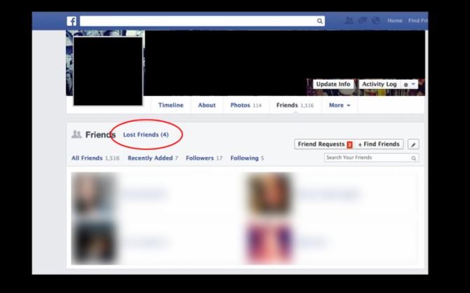 Facebook per kis ney app ko kiya unfriend