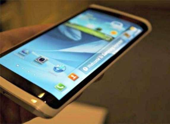 Samsung Galaxy Note 4 display detailed