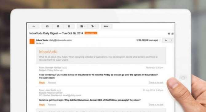 InboxVudu makes your inbox smarter