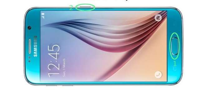 How to take a screenshot on the Samsung Galaxy S6، S6 edge